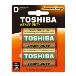 2x Piles Toshiba Zinc Heavy...