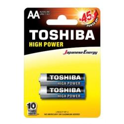 2x Piles Toshiba Alkaline...
