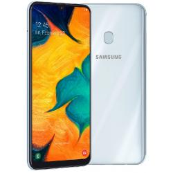 Téléphone Portable Samsung Galaxy A30 / Blanc + SIM Orange Offerte (60 Go)