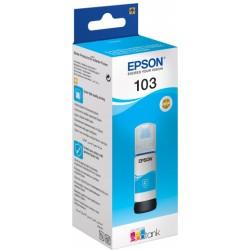 Bouteille d'encre Originale Epson EcoTank 103 / Cyan