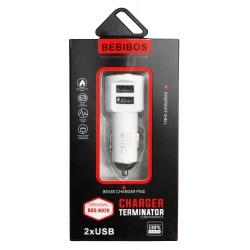 Chargeur Allume Cigare BEBIBOS 2x USB 2.4A
