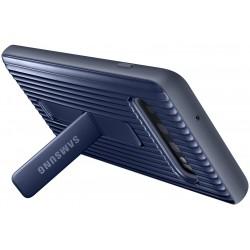 Coque arrière Protective Stand pour Samsung Galaxy S10 / Bleu