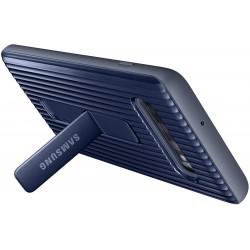 Coque arrière Protective Stand pour Samsung Galaxy S10+ / Bleu
