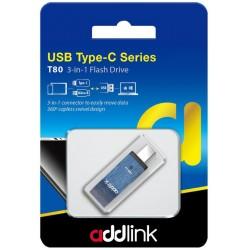 Clé USB Addlink OTG 3en1 USB 3.1 + USB Type C + Micro USB / 32 Go