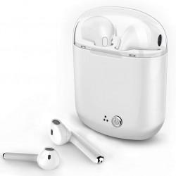 Écouteurs Bluetooth Intra-Auriculaires i7S TWS avec Box Chargeur