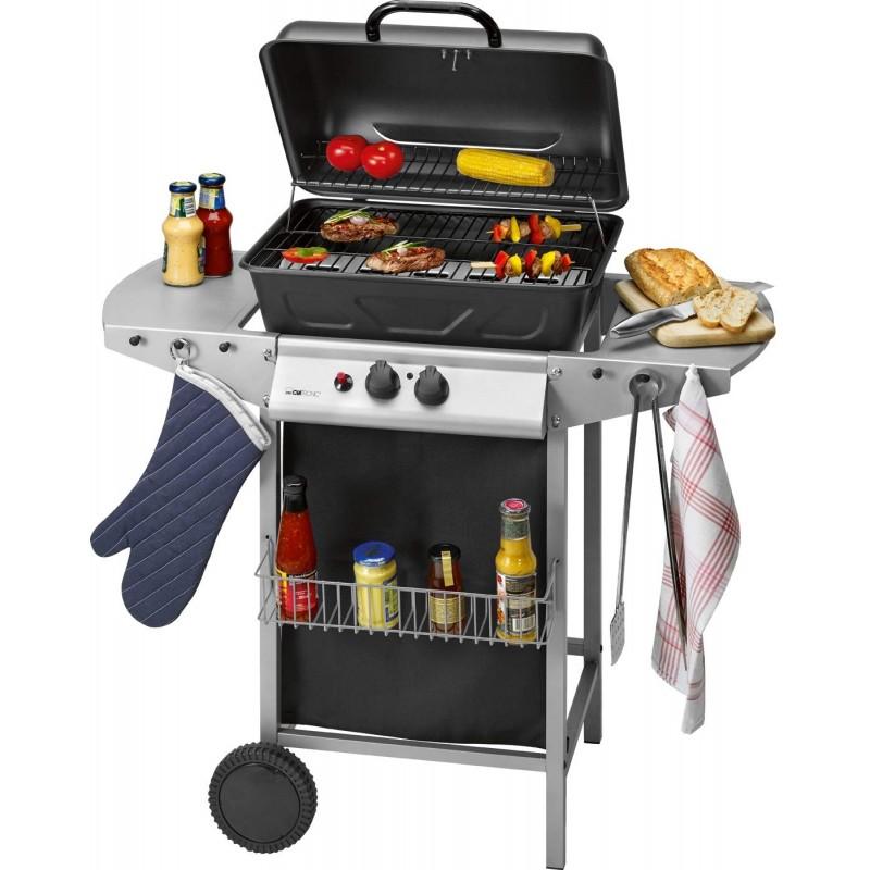 Barbecue à gaz et Grill Clatronic GG 3590