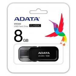 Clé USB Adata UV240 / 8 Go / Noir