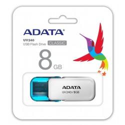 Clé USB Adata UV240 / 8 Go / Blanc
