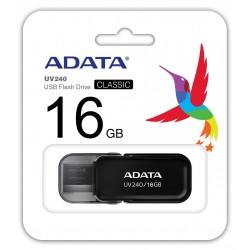 Clé USB Adata UV240 / 16 Go / Noir