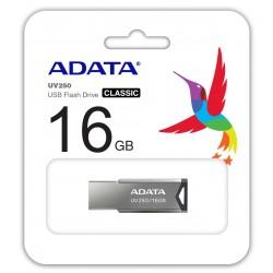 Clé USB Adata UV250 / 16 Go / Silver