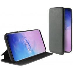 Etui Flip Cover avec support Ksix Folio Lite pour Galaxy S10 / Noir