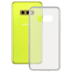 Coque en Silicone Ksix Flex Ultrafine pour Galaxy S10e / Transparent