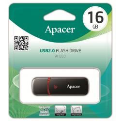 Clé USB Apacer AH333 / 16 Go / Noir