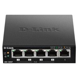Switch D-Link 5 ports 10/100Mbps / 4 ports PoE