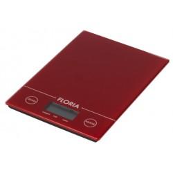 Balance de cuisine numérique Floria ZLN1686 / Rouge