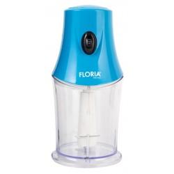 Mini Hachoir électrique Floria ZLN9850 / 200 W / Bleu