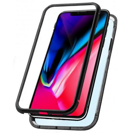 Etui Magnétique Ksix pour iPhone XR / Noir