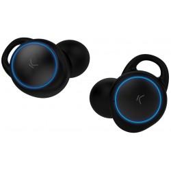 Écouteurs Bluetooth Ksix Go & Play avec Micro / Noir