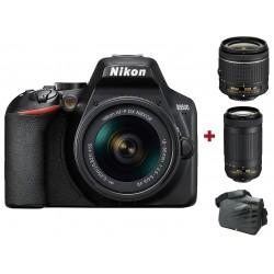 Réflex Numérique Nikon D3500 + Objectif AF-P DX NIKKOR 18-55mm + Objectif AF-P DX NIKKOR 70-300mm + Sacoche