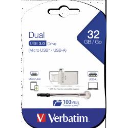 Clé USB Verbatim OTG USB 3.0 / 32 Go