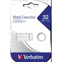 Clé USB Verbatim Executive métallique USB 2.0 / 32 Go