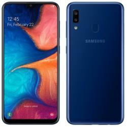 Téléphone Portable Samsung Galaxy A20 / Bleu + SIM Orange Offerte (60 Go)