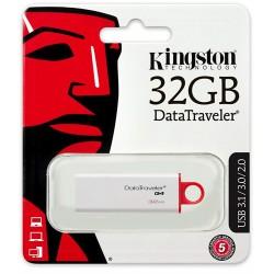 Clé USB Kingston DataTraveler G4 / USB 3.0 / 32 Go