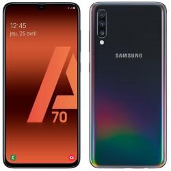 Téléphone Portable Samsung Galaxy A70 / Noir + SIM Orange Offerte (60 Go)