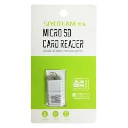 Lecteur de cartes Micro SD SIYOTEAM SY-T18 USB 2.0