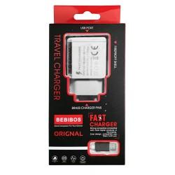 Chargeur Secteur BEBIBOS 2.1A / Blanc