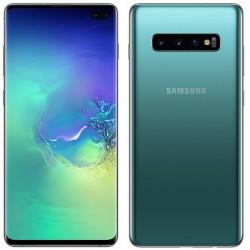 Téléphone Portable Samsung Galaxy S10+ / Bleu Prisme + SIM Orange 60 Go + Film de protection Offert