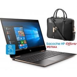 Pc portable HP Spectre x360 - 13-ap0001nk / i5 8è Gén / 8 Go + Sacoche Offerte