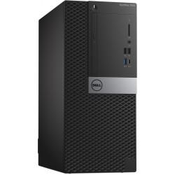 Pc de bureau Dell Optiplex 7050MT / i7 7è Gén / 8 Go