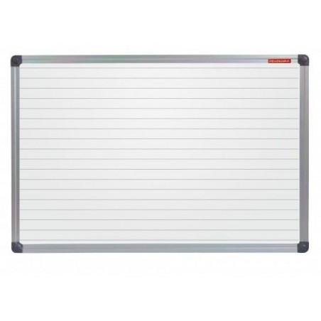 Tableau Blanc magnétique avec des lignes 180 x 100