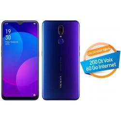 Téléphone Portable Oppo F11 / 4G / Double SIM / Violet + SIM Orange Offerte (60 Go) + Abonnement IPTV