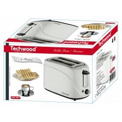 Grille Pain 2 Fentes Techwood TGP-202 / Blanc