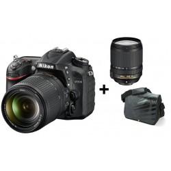 Réflex Numérique Nikon D7200 + AF-S DX Nikkor 18-140mm + Sacoche