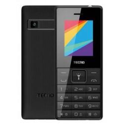 Téléphone Portable Tecno T350 / Double SIM / Noir + SIM Offerte