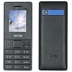 Téléphone Portable Tecno T350 / Double SIM / Noir & Bleu + SIM Offerte