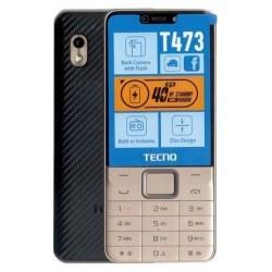 Téléphone Portable Tecno T473 / Double SIM / Gold + SIM Offerte