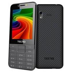 Téléphone Portable Tecno T473 / Double SIM / Gris + SIM Offerte
