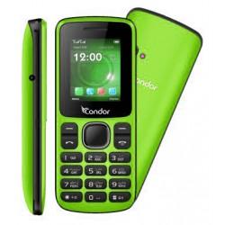 Téléphone Portable Condor F1 Mini / Double SIM / Vert + SIM Offerte
