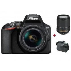 Réflex Numérique Nikon D3500 + Objectif AF-S DX NIKKOR 18-140mm + Sacoche