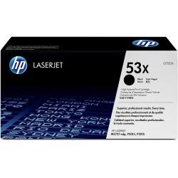 Toner Originale LaserJet HP 53X grande capacité / Noir