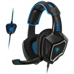 Casque Micro Gaming Spirit of Gamer Xpert-H500 Bleu