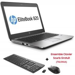 Pc portable HP EliteBook 820 G4 / i5 7è Gén / 12 Go + SIM Orange Offerte 30 Go