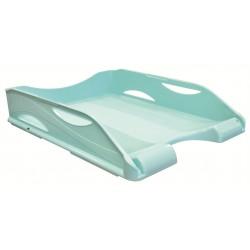 Corbeille à courrier ARDA - A4 / Bleu pastel