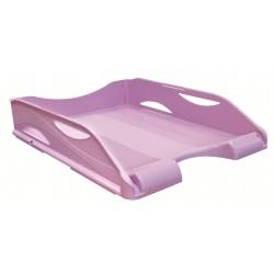 Corbeille à courrier ARDA - A4 / Violet pastel
