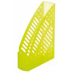 Porte-revues en plastique transparent Faibo 150T / Jaune