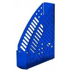 Porte-revues en plastique transparent Faibo 150T / Bleu